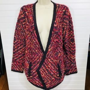 MOTH (Anthropologie) Keavy Open Front Cardigan EUC